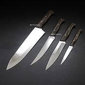 Посуда handmade. Livemaster - original item A set of kitchen knives. Handmade.