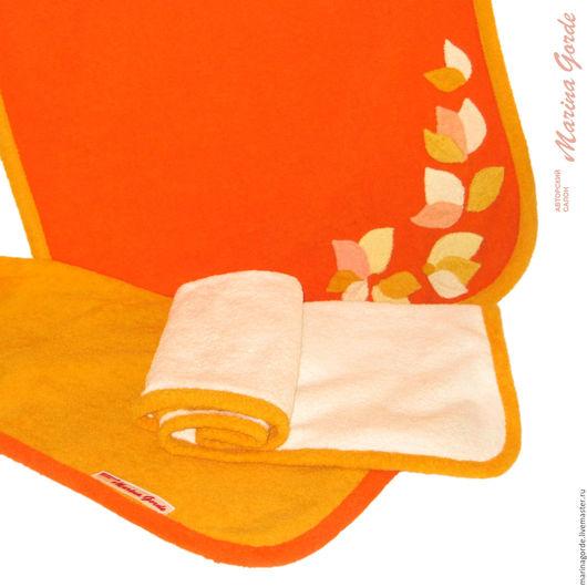 Банные принадлежности ручной работы. Ярмарка Мастеров - ручная работа. Купить Набор полотенец. Handmade. Банные принадлежности, товары для сауны