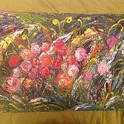 Картины и панно handmade. Livemaster - original item Floral Symphony 2. Handmade.