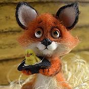 Куклы и игрушки ручной работы. Ярмарка Мастеров - ручная работа Лисёнок Людвиг. Handmade.