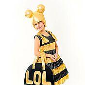 Одежда handmade. Livemaster - original item Costume Doll Bee (summer). Handmade.