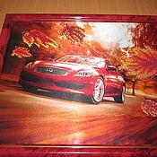 Картины и панно handmade. Livemaster - original item Need for speed. Handmade.