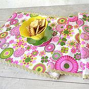 Для дома и интерьера handmade. Livemaster - original item Track on the table with Bright circles. Handmade.
