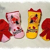 Обувь ручной работы handmade. Livemaster - original item Slippers-boots favorite grandma. Handmade.