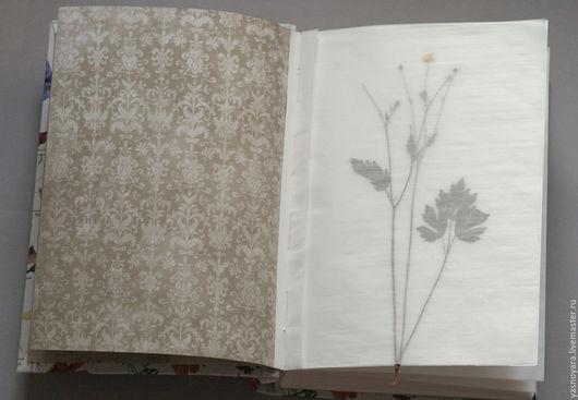 Фотоальбомы ручной работы. Ярмарка Мастеров - ручная работа. Купить Альбом для гербария Ботаника (А4, для 40 растений). Handmade. Белый
