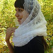 Аксессуары handmade. Livemaster - original item 91 Snood scarf, knitted, fur, accessories. shawls, stoles. Handmade.