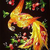 """Картины и панно ручной работы. Ярмарка Мастеров - ручная работа картина """"Жар-птица"""". Handmade."""