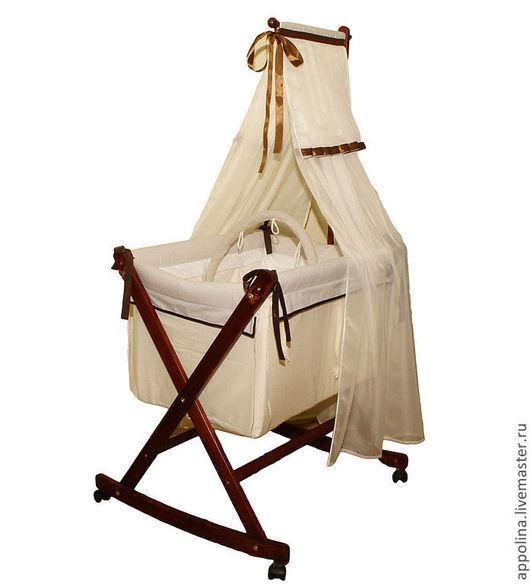 """Детская ручной работы. Ярмарка Мастеров - ручная работа. Купить Колыбель-люлька """"Палермо"""". Handmade. Детская мебель, детская кроватка"""