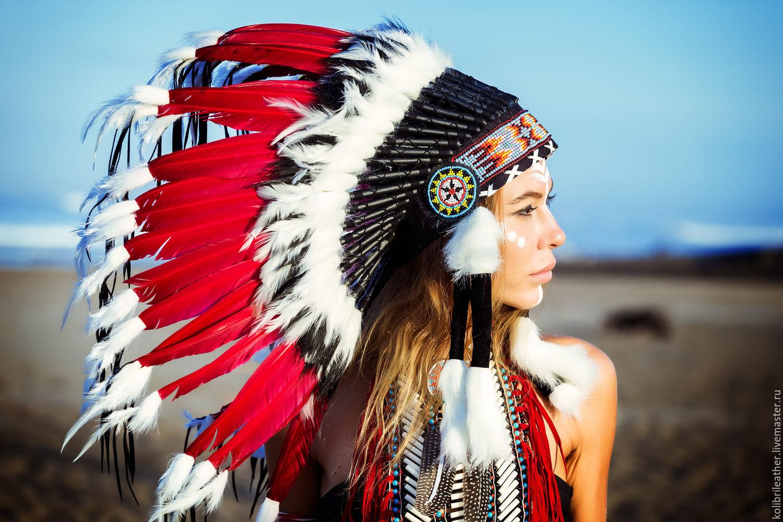 Esoteric Accessories handmade. Livemaster - handmade. Buy Indian headdress  Fiery Sun. Hat Indian ... 4984ff42142