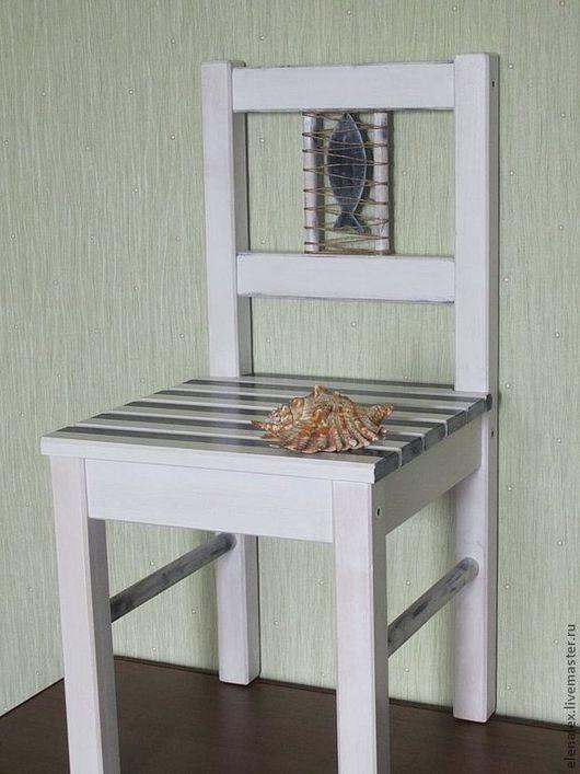 Детская ручной работы. Ярмарка Мастеров - ручная работа. Купить Детский стульчик из коллекции «Морячок». Handmade. Детская комната, интерьер