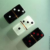 Сувениры и подарки handmade. Livemaster - original item Domino glass. Handmade.