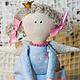 Куклы Тильды ручной работы. Принцесса на горошине. Just so. Интернет-магазин Ярмарка Мастеров. Розовый, тильда, подарок девочке