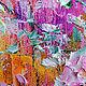 Пейзаж ручной работы. Цветение сакуры на горе Doi Suthep. ЯРКИЕ КАРТИНЫ Наталии Ширяевой. Ярмарка Мастеров. Сакура
