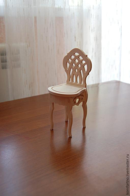 Кукольный стульчик.Заготовка для декупажа и росписи.171