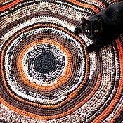 Для дома и интерьера ручной работы. Ярмарка Мастеров - ручная работа Ковер вязаный круглый. Handmade.