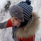 Работы для детей, ручной работы. Ярмарка Мастеров - ручная работа Шапка для мальчика. Ушанка.. Handmade.