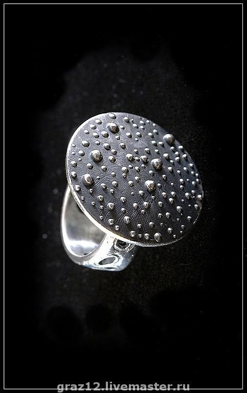 """Кольца ручной работы. Ярмарка Мастеров - ручная работа. Купить Кольцо """"Роса"""". Handmade. Серебряный, кольцо, кольцо из серебра"""