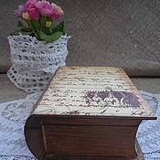 """Для дома и интерьера ручной работы. Ярмарка Мастеров - ручная работа шкатулка-книга """" Её Высочество"""". Handmade."""
