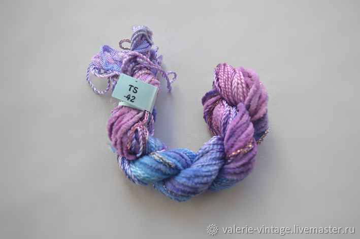 Mix of 5 different threads for embroidery (№42), Thread, Moscow,  Фото №1