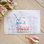 Открытки ручной работы. Ярмарка Мастеров - ручная работа Открытки от Подарёнки. Handmade.