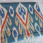 Материалы для творчества ручной работы. Ярмарка Мастеров - ручная работа Узбекский хлопковый икат ручного ткачества. Handmade.