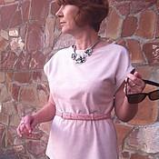 Одежда ручной работы. Ярмарка Мастеров - ручная работа Топ Ричмонд из замши натуральной. Handmade.