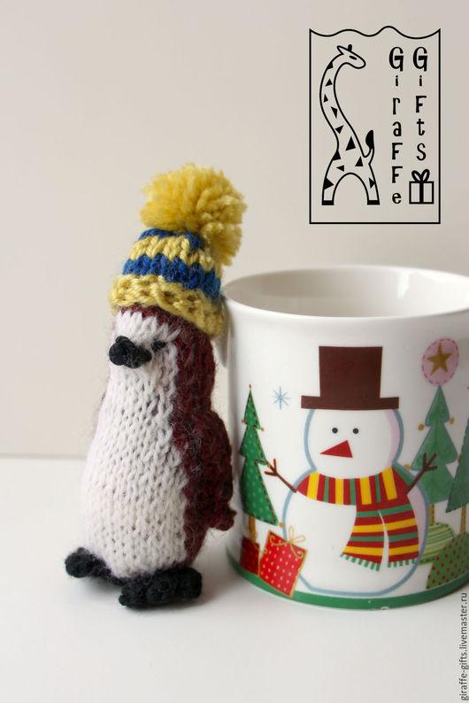 Игрушки животные, ручной работы. Ярмарка Мастеров - ручная работа. Купить Пингвиненок Мотя. Handmade. Комбинированный, шапочка, желтый, милый