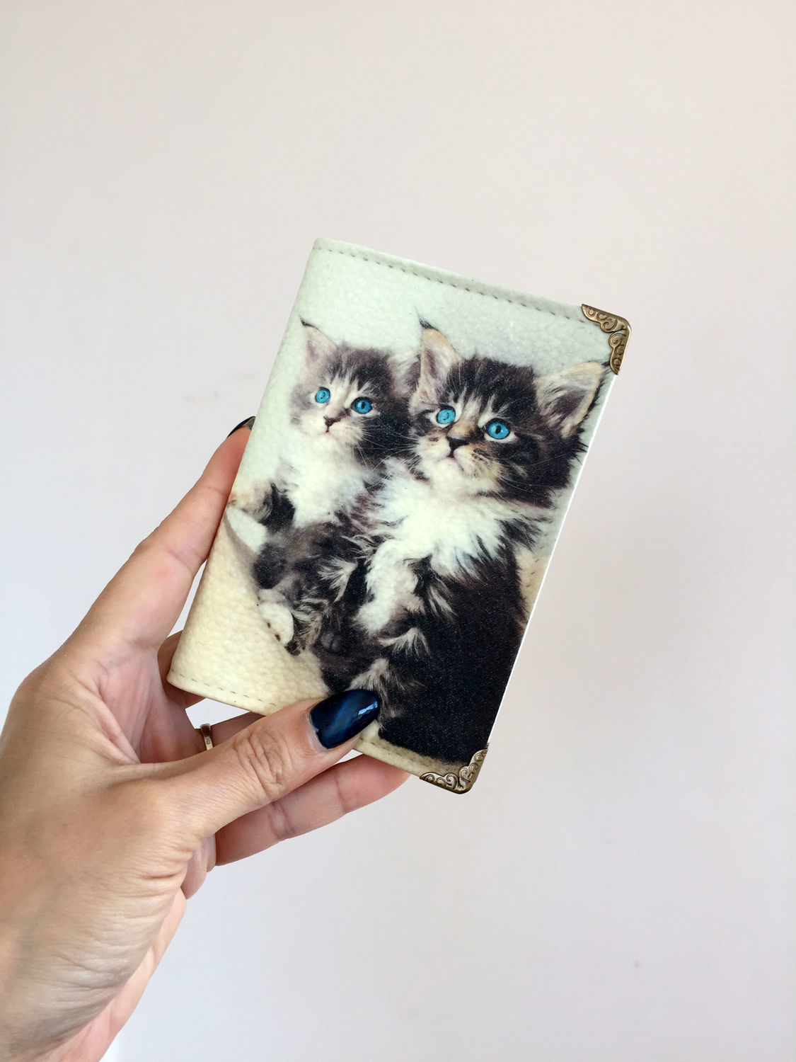 Cover (leather), series 'CATS', Cover, Obninsk,  Фото №1