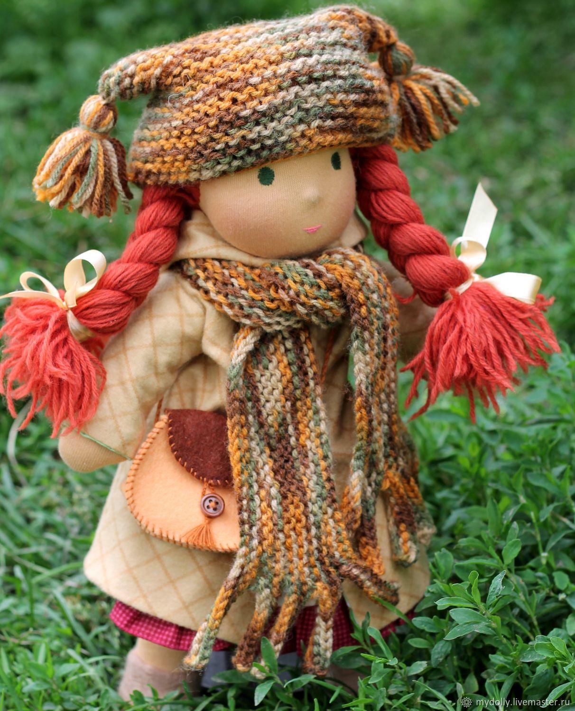 Вальдорфская кукла Маришка (35 см) с гардеробом и аксессуарами, Вальдорфские куклы и звери, Тула,  Фото №1