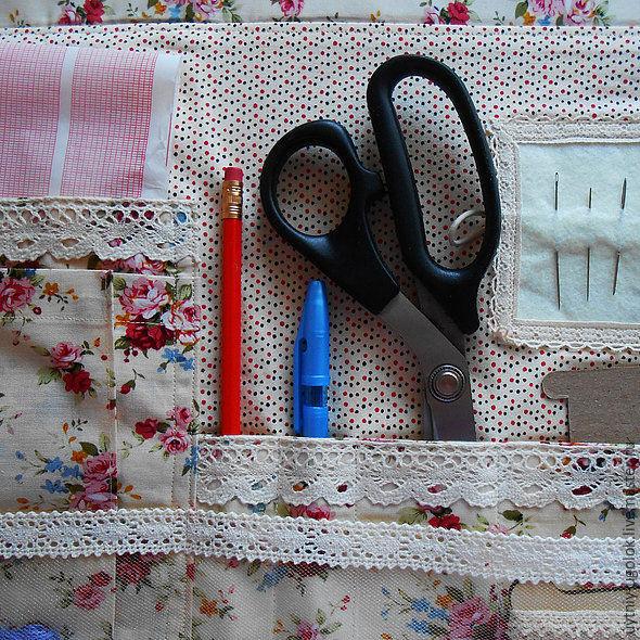 Вышивка уголок для рукодельницы