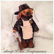 Куклы и игрушки ручной работы. Ярмарка Мастеров - ручная работа пес Пафнутий. Handmade.
