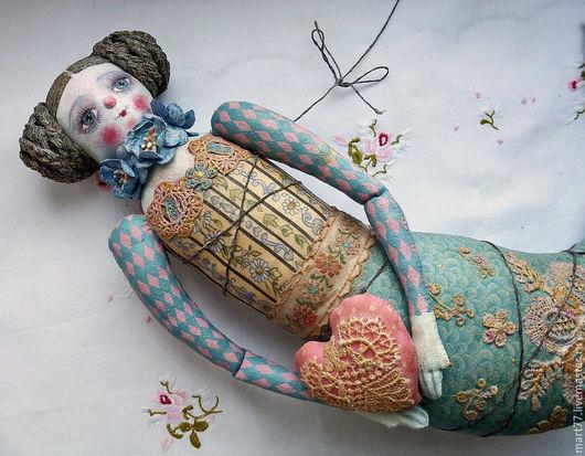 `Влюблённая русалка`. Olga Mart. Ярмарка мастеров.
