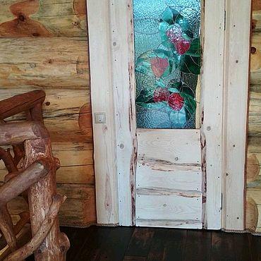 Для дома и интерьера ручной работы. Ярмарка Мастеров - ручная работа Дверь из массива сосны. Handmade.