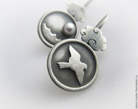Ярмарка Мастеров, Kiwi Art Studio, серьги из серебра, оригинальные серьги, серьги серебро, серьги из серебра 925, серьги серебро 925, серебряные серьги,серебро серьги,