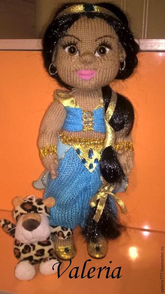 Человечки ручной работы. Ярмарка Мастеров - ручная работа. Купить кукла Жасмин. Handmade. Голубой, кукла, кукла интерьерная, пупс