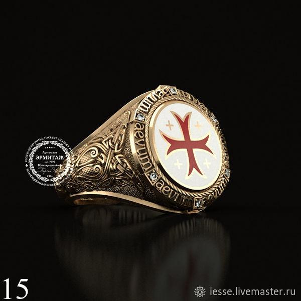 Кольцо золото 585 пробы с бриллиантами, эмалью.На заказ любой размер.