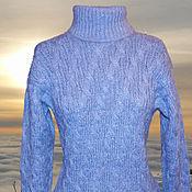 """Одежда ручной работы. Ярмарка Мастеров - ручная работа Свитер вязаный """"Вьюга"""". Handmade."""