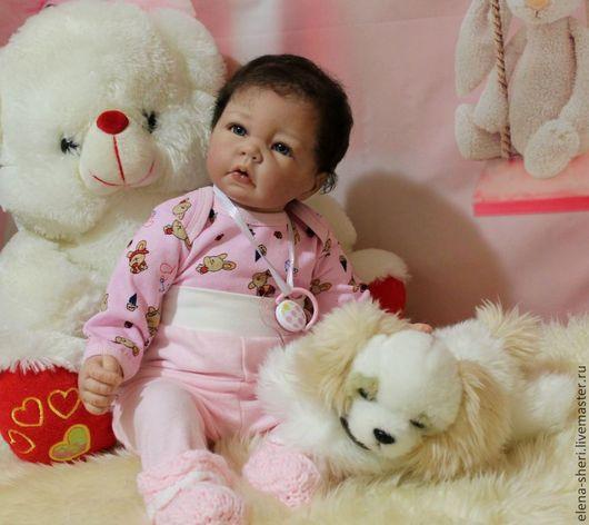 Куклы-младенцы и reborn ручной работы. Ярмарка Мастеров - ручная работа. Купить Луковка-2. Handmade. Молд Лука, синтепон