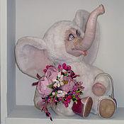 """Куклы и игрушки ручной работы. Ярмарка Мастеров - ручная работа Слоненок  """"Лёля"""". Handmade."""