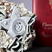 """Свадебный салон ручной работы. Ярмарка Мастеров - ручная работа Букет невесты  """"Зимний беж"""". Handmade."""