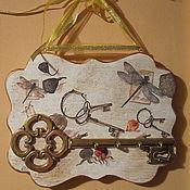 """Для дома и интерьера ручной работы. Ярмарка Мастеров - ручная работа Ключница """"Ключи от счастливого дома"""".. Handmade."""