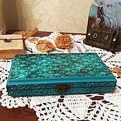 Box handmade. Livemaster - original item copernica-box for money, decoupage. Handmade.