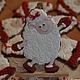 Персональные подарки ручной работы. Пряничная овечка - фигуристка. Жанна. Интернет-магазин Ярмарка Мастеров. Овечка в подарок, фигурное катание