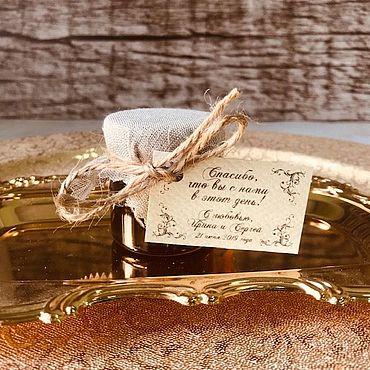 """Свадебный салон ручной работы. Ярмарка Мастеров - ручная работа Бонбоньерка """"Липовый медок"""". Handmade."""