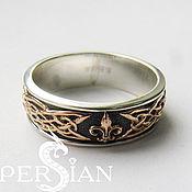 Украшения handmade. Livemaster - original item Silver ring Royal Lily. Handmade.