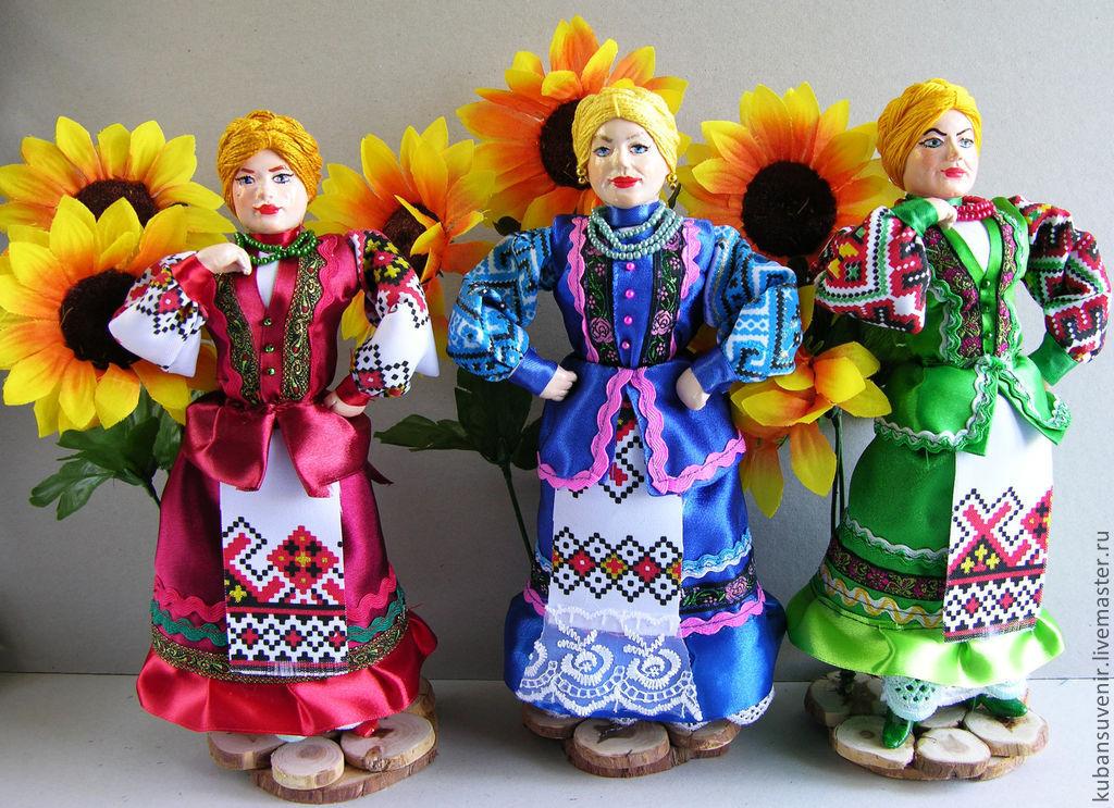 Тряпичная кукла казачка своими руками 199