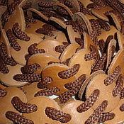 Аксессуары ручной работы. Ярмарка Мастеров - ручная работа Пояс из кожаных кружков Круг-ля-ля. Handmade.