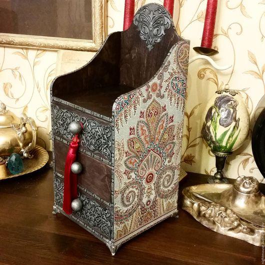 """Мини-комоды ручной работы. Ярмарка Мастеров - ручная работа. Купить Мини-комод """"Марокко"""". Handmade. Комбинированный, шкатулка для украшений"""