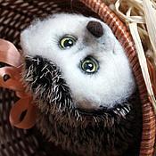 Куклы и игрушки handmade. Livemaster - original item hedgehog push toy from felt. Handmade.