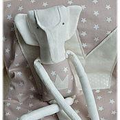 Для дома и интерьера ручной работы. Ярмарка Мастеров - ручная работа Плед детский и слоненок Маленький принц мягкий уютный плед в подарок. Handmade.